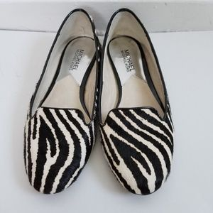 Michael Kors flat loafers calf hair size 6